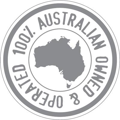 100% Australia Ownded