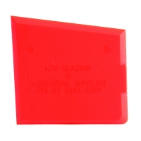 Silicone Spatula - Red with Pick Up Tag