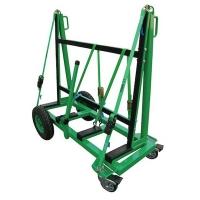 Trolley Single-sided  A-frame 2bar Pneu Wheels