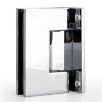 Hinge T7 90° W/G Full Back Square Chrome