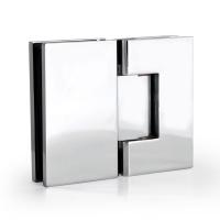 Hinge T7 180° G/G Square Chrome