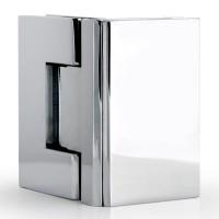 Hinge T7 90° G/G Square Chrome