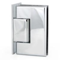 Hinge P1 90° W/G Offset Square Chrome
