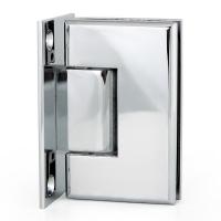 Hinge P1 90° W/G Full Back Square Chrome