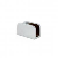 U-bracket 6mm Radius Corners Chrome