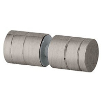 Barrel Knob 25mm Brushed Nickel