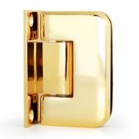 Hinge 90° W/G Full Back Chamfered Gold