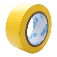 Tape Aluminium  Protect PVC 66m Yellow
