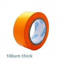 Tape Aluminium Protect PVC 66m Orange