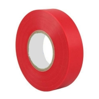 Tape PVC Red  66mm