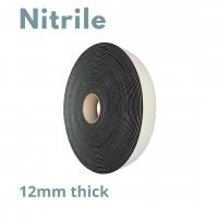 Tape S/S PVC/Nit/Neo 12mmx width x6m Black