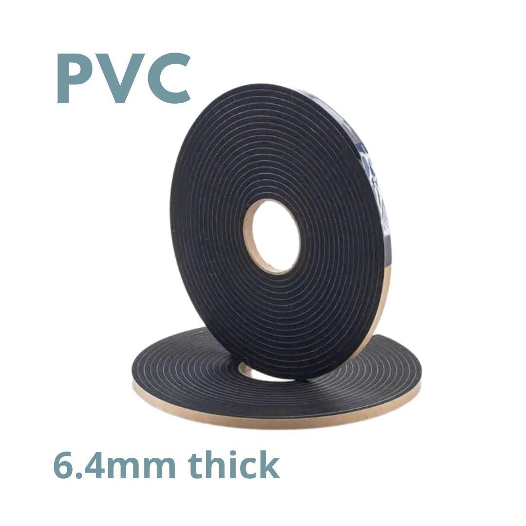 Tape D/S PVC 6.4mm Thickness X 10.5m Width