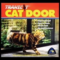 Cat Door, Clear Perspex