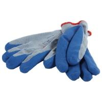 Gloves Blue Latex Palm