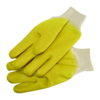 Gloves Latex Smooth Yellow Glassgripper