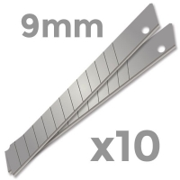 Blades 9mm Snap-Off (Pack 10)