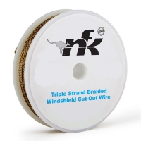 Cut-out Wire Braided (Gold) - 22mtr