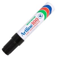 Art Marker Pen - 100 Black Chisel Tip