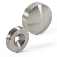 Dome Cap 50mm with concealed fixing SSS