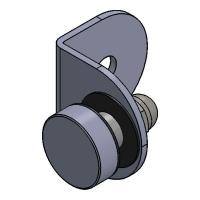 Folded Angle Bracket W/G 50x50x3