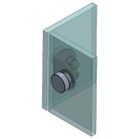 Folded Angle Bracket 90° G/G 50x50