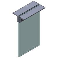 Angle Bracket Ceiling 75x75x300