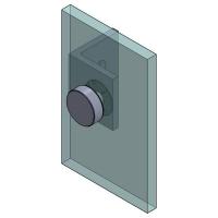 Angle bracket W/G 50x50 Square