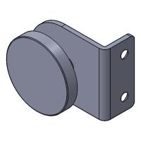 Folded Angle Bracket W/G 50x24