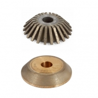 CNC 22.5° D150x22  Continuous and Segmented