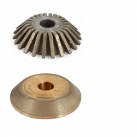 CNC 45° D150x22  Continuous and Segmented