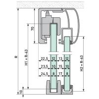 VITRIS 120 Slide - Kit 9 Sgl 3m Rnd S/Li